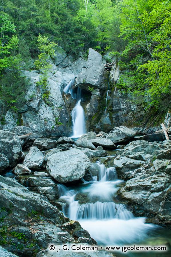 &#8220Falls of Bash Bish Creek&#8221, Bash Bish Falls State Park, Mount Washington, Massachusetts