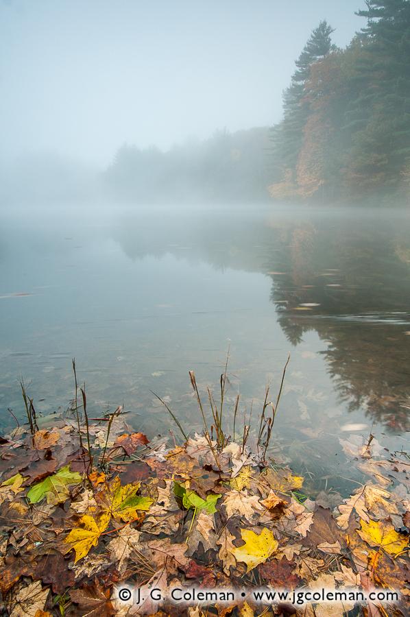 &#8220Mattatuck Mist&#8221, Black Rock Pond, Black Rock State Park, Watertown, Connecticut
