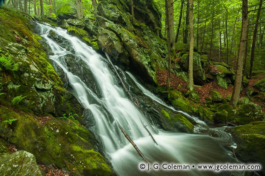 &#8220Plymouth Wildlands&#8221, Buttermilk Falls, Buttermilk Falls Preserve, Plymouth, Connecticut