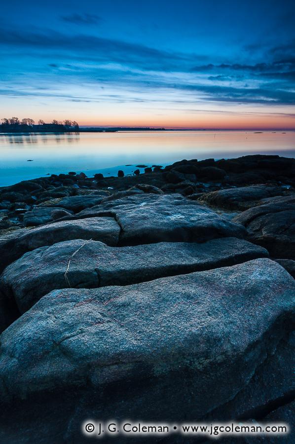 &#8220Dawn & Fissures&#8221, Chaffinch Island, Guilford, Connecticut