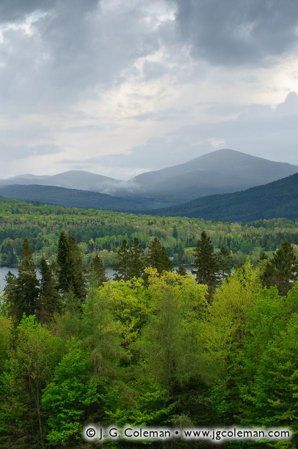 &#8220Beyond Echo Lake&#8221, Charleston, Vermont