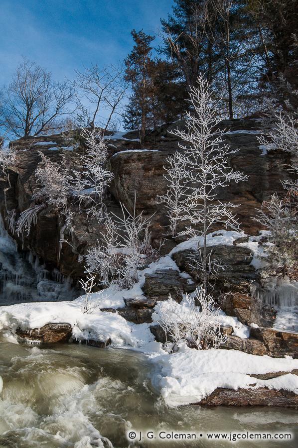 &#8220Eightmile Morning&#8221, Eightmile River, Devil's Hopyard State Park, East Haddam, Connecticut