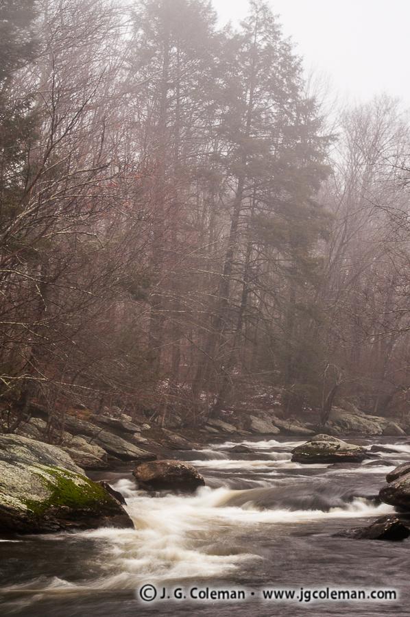 &#8220Natchaug Mist&#8221, Natchaug River, Chaplin, Connecticut