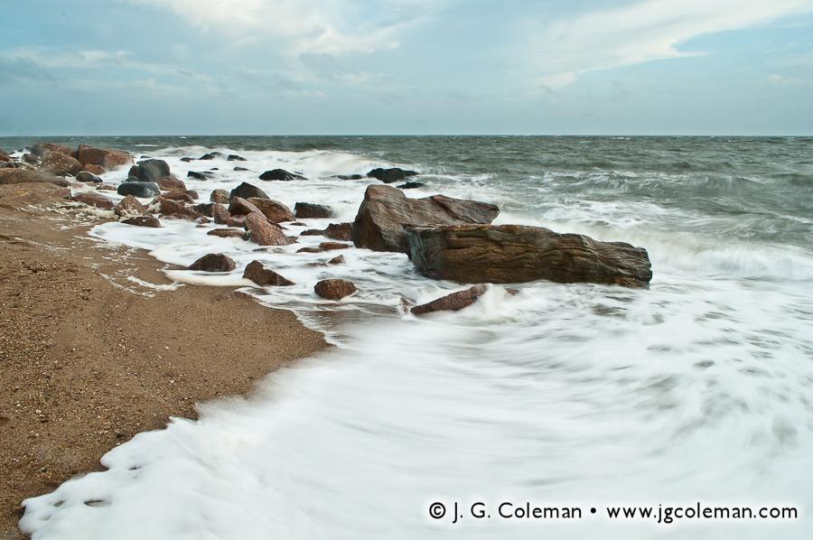 &#8220Rough Seas on the Sound&#8221, Hammonasset Beach State Park, Madison, Connecticut