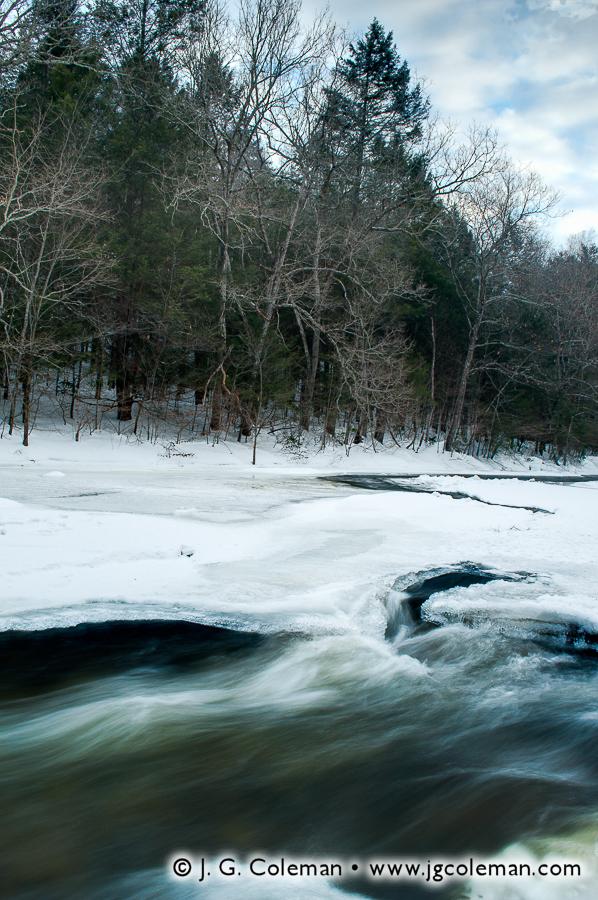 &#8220Hidden River, Hidden Valley&#8221, Shepaug River, Hidden Valley Preserve, Washington, Connecticut