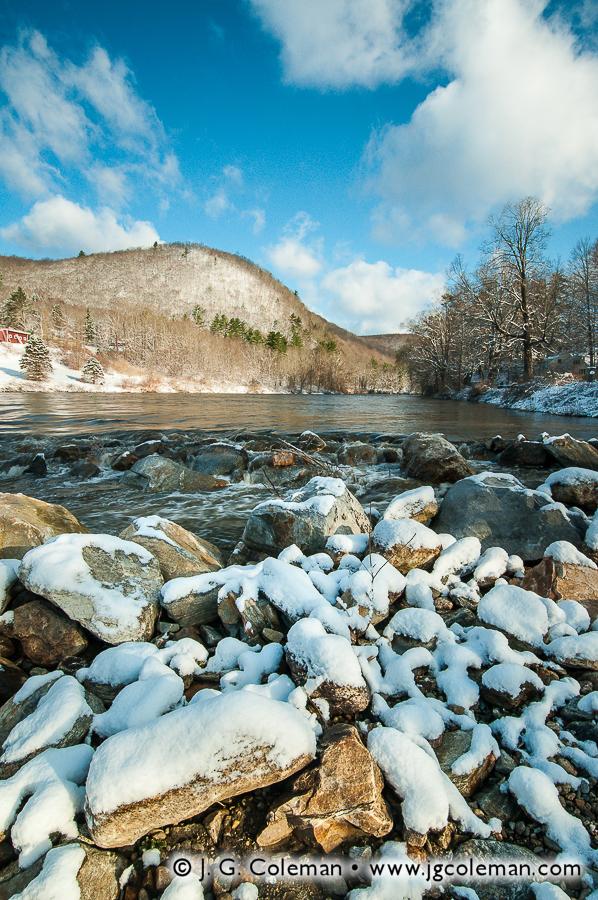 &#8220Winter's Last Breath&#8221, Housatonic River, Cornwall, Connecticut