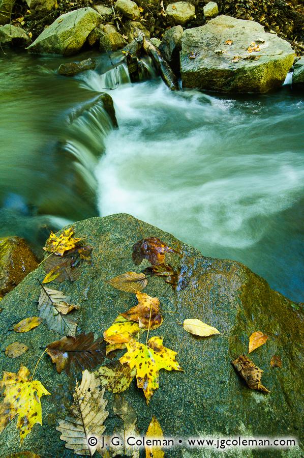 &#8220Autumn Cascades on Breakneck Brook&#8221, Breakneck Brook, Hudson Highlands State Park, Cold Spring, New York