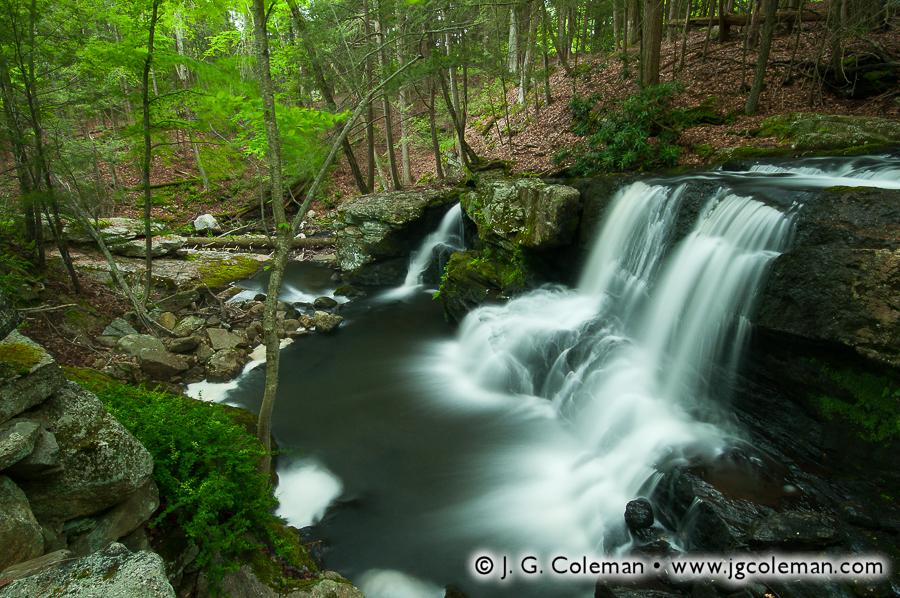 &#8220Falls of Old Northfield&#8221, Knife Shop Falls, Humaston Brook State Park, Litchfield, Connecticut