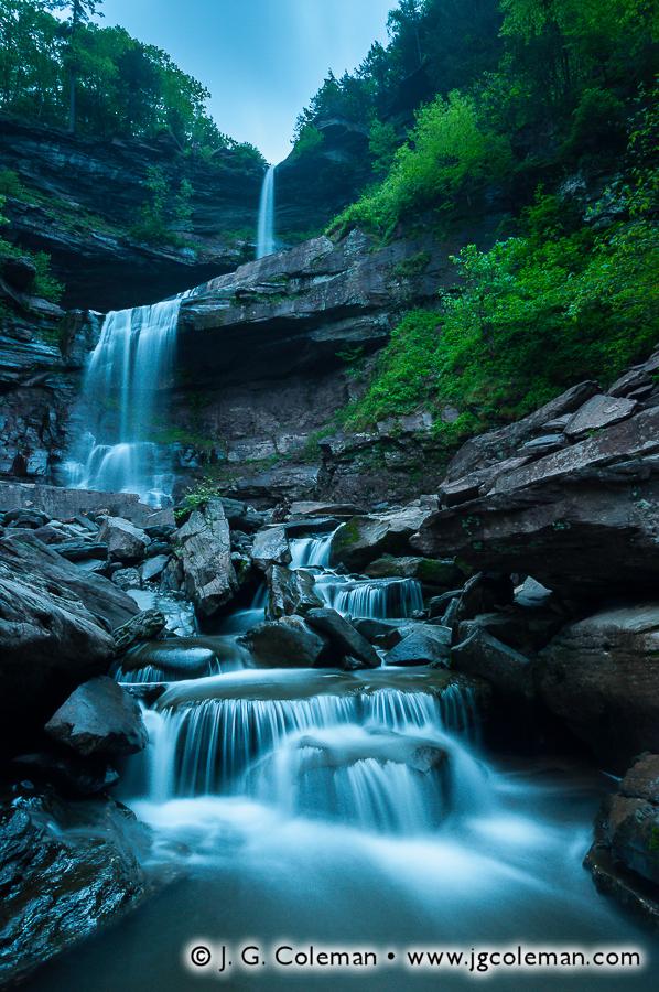 &#8220Wilds of Kaaterskill&#8221, Kaaterskill Falls, Kaaterskill Wild Forest, Hunter, New York