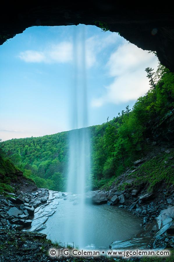 &#8220Deepest Kaaterskill&#8221, Kaaterskill Falls, Kaaterskill Wild Forest, Hunter, New York