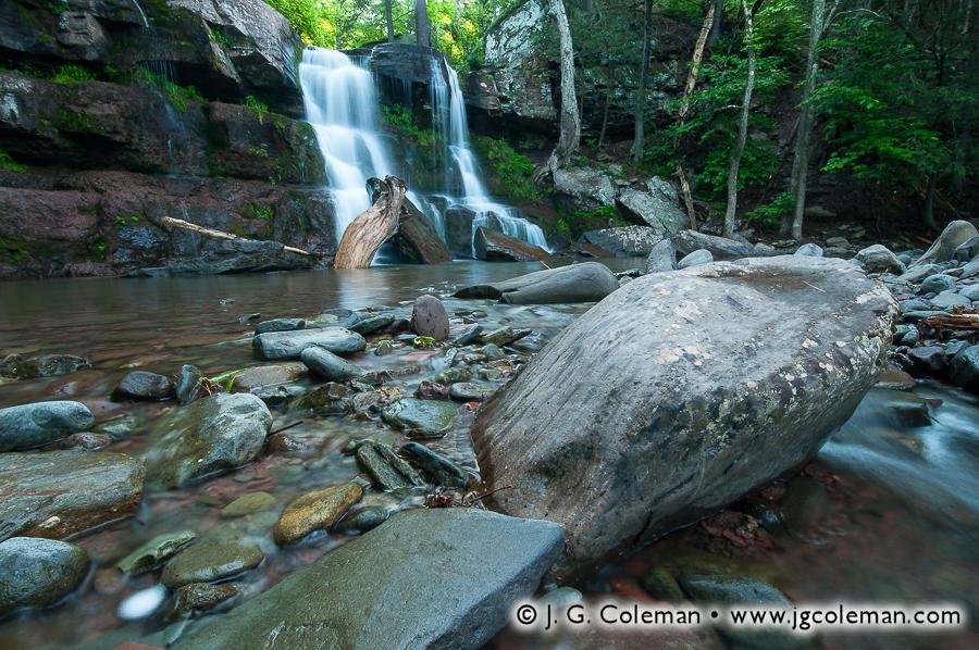 &#8220Bastion Woodlands&#8221, Bastion Falls, Kaaterskill Wild Forest, Hunter, New York