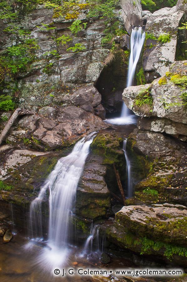 &#8220Pristine Cascades&#8221, Kent Falls, Kent Falls State Park, Kent, Connecticut