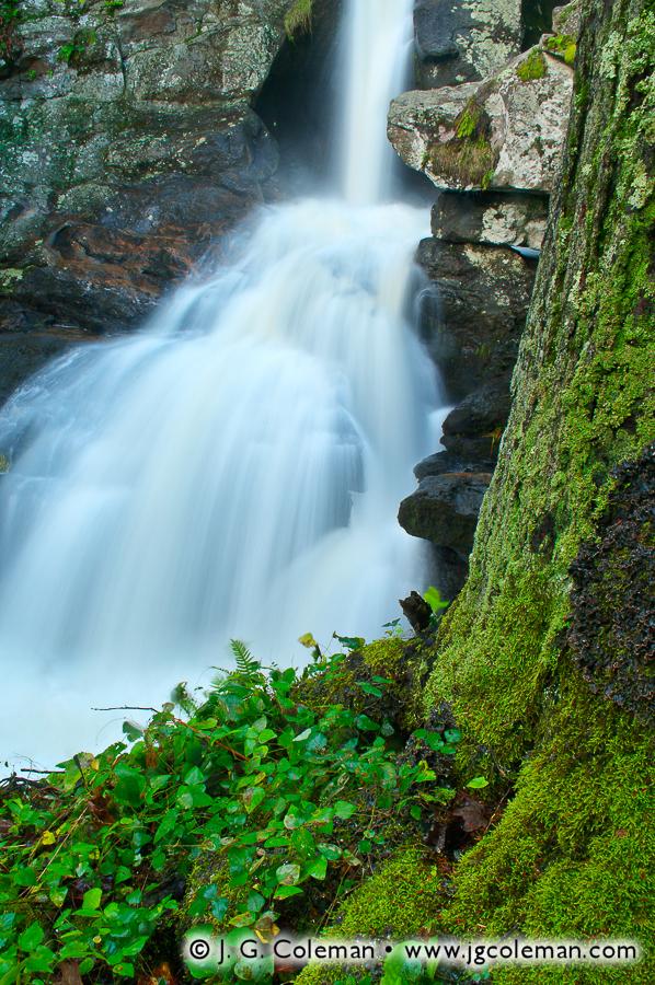 &#8220High Water on Falls Brook&#8221, Kent Falls, Kent Falls State Park, Kent, Connecticut