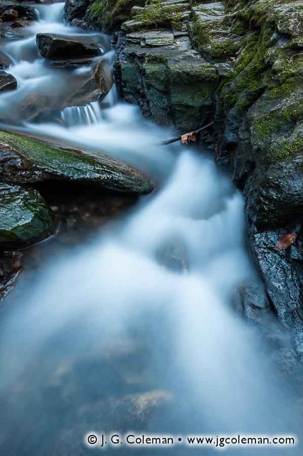 &#8220Spruce Brook Twilight&#8221, Koons Nature Preserve, Southbury, Connecticut