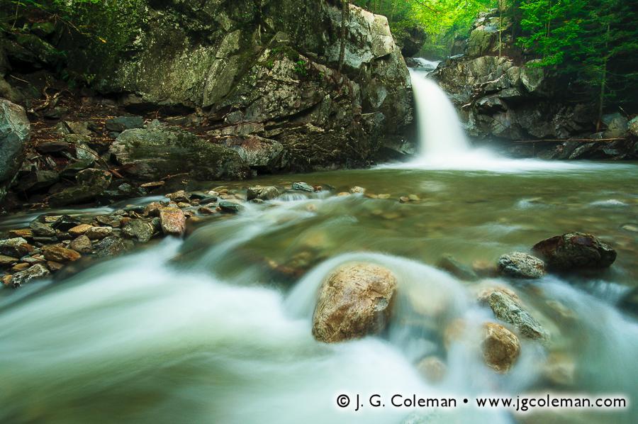 &#8220Falls on Eddy Brook North&#8221, McLaughlin Falls, Eddy Brook (north branch), Mendon, Vermont