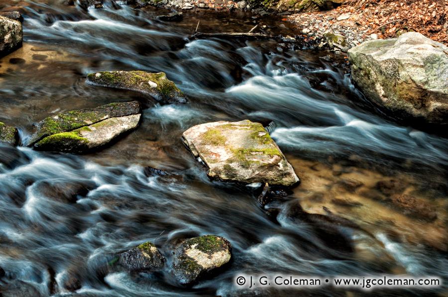 &#8220Rushing Waters of the Mianus&#8221, Mianus river, Mianus River, Mianus River Gorge Preserve, Bedford, New York