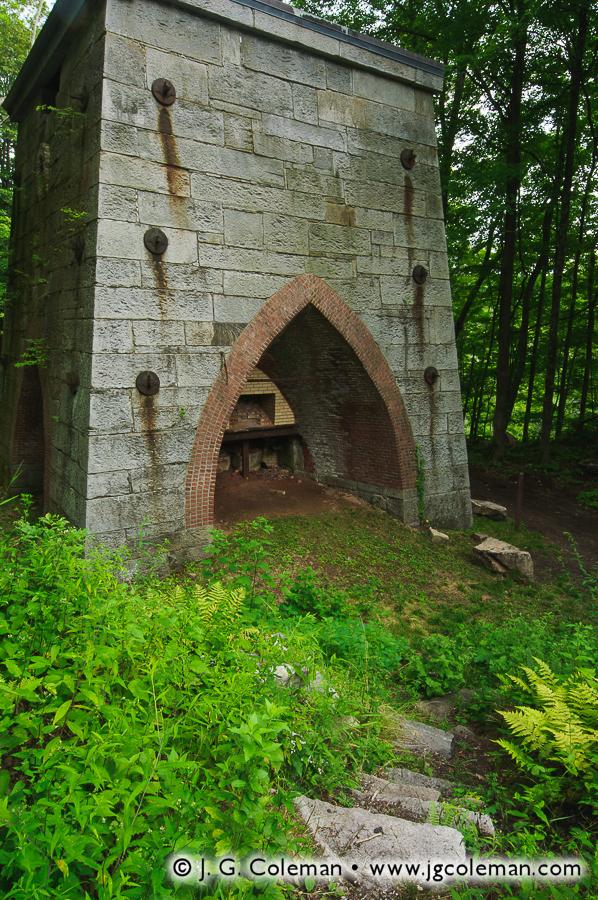 &#8220Furnace of Mine Hill&#8221, Ruins of Iron Furnace, Mine Hill Preserve, Roxbury, Connecticut