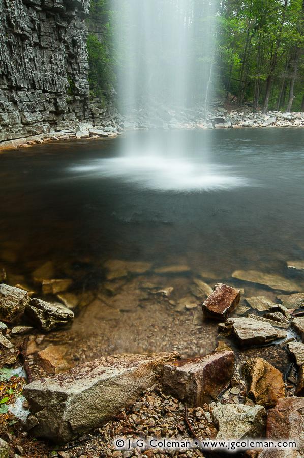 &#8220Awosting from the Heavens&#8221, Awosting Falls, Minnewaska State Park, Kerhonkson, New York