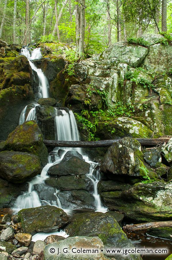 &#8220Paugussett Wildlands&#8221, Prydden Brook Falls, Paugussett State Forest, Newtown, Connecticut