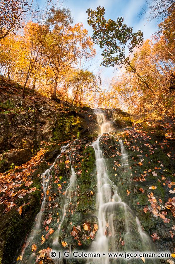 &#8220Roaring Brook Autumnlands&#8221, Roaring Brook Falls, Roaring Brook Falls Park, Cheshire, Connecticut