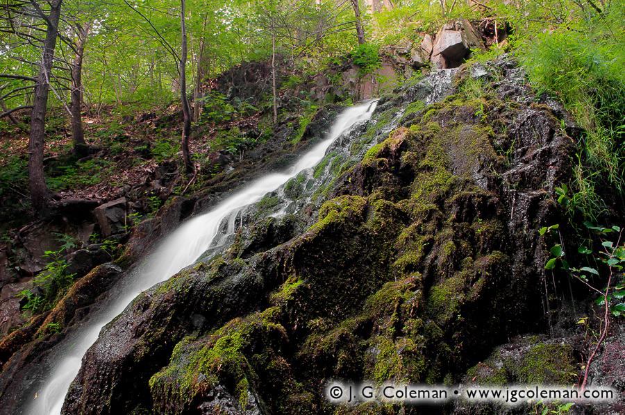 &#8220Mossy Cascades&#8221, Roaring Brook Falls, Roaring Brook Falls Park, Cheshire, Connecticut