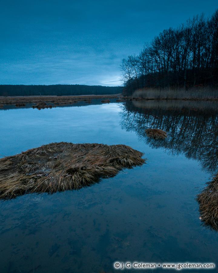 &#8220Salt Marsh Twilight&#8221, Rocky Neck State Park, East Lyme, Connecticut