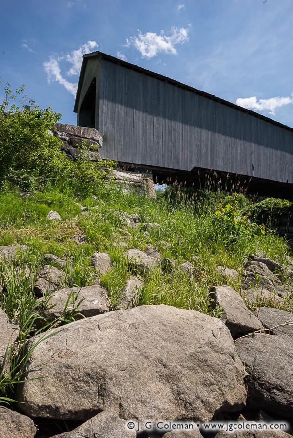 &#8220A Bridge Reborn&#8221, Sheffield Covered Bridge, Sheffield, Massachusetts
