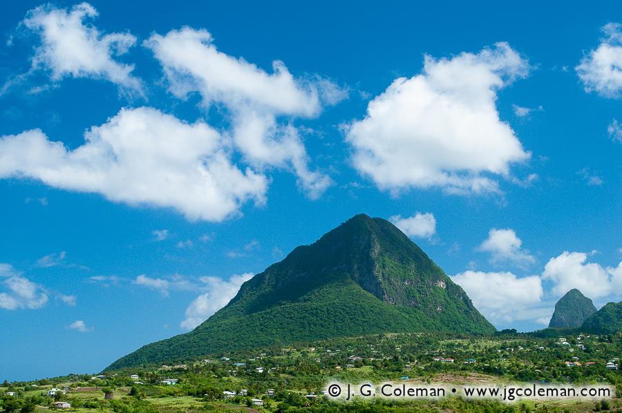 &#8220Gros Piton Countryside&#8221, Gros Piton, Soufriere, Saint Lucia