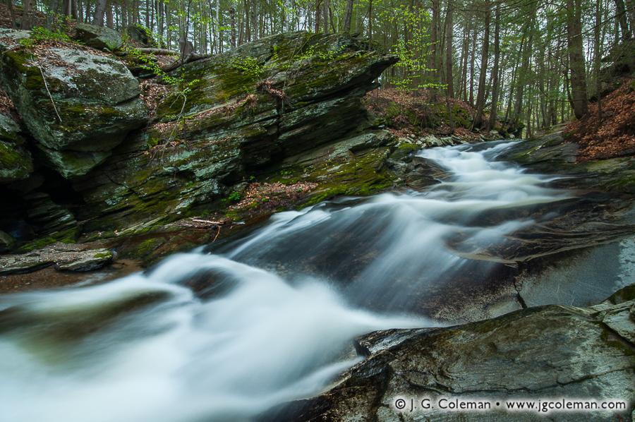 &#8220The Falls at Tierney&#8221, Jack's Brook Cascades, Brian E. Tierney Preserve, Roxbury, Connecticut