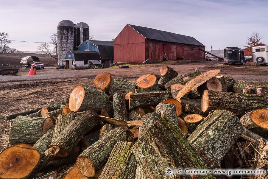&#8220Yankee Farmlands № 28&#8221, Wallingford, Connecticut