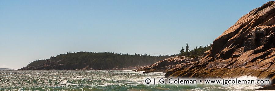 &#8220Cliffs of Sand Beach&#8221, Sand Beach & Newport Cove, Acadia National Park, Maine