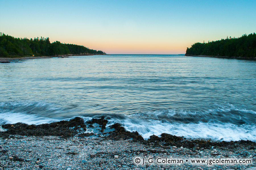 &#8220The Otter's Mouth&#8221, Otter Cove, Acadia National Park, Maine