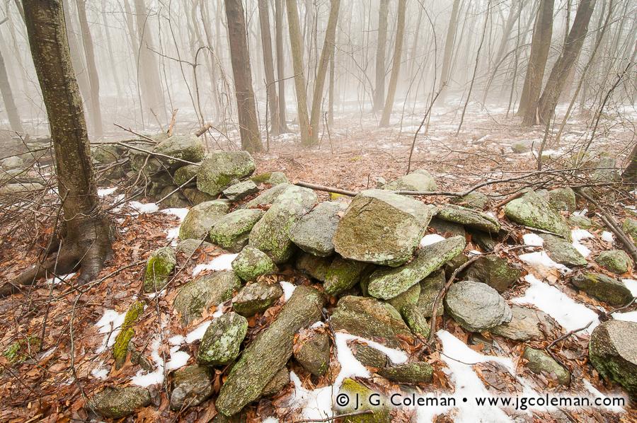 &#8220Memories in Stone&#8221, Ansonia Nature Center, Ansonia, Connecticut