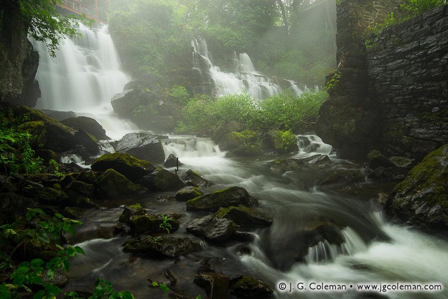 &#8220Abode of the Millwright's Ghost&#8221, Aspetuck Falls (a.k.a. New Preston Falls), Washington, Connecticut