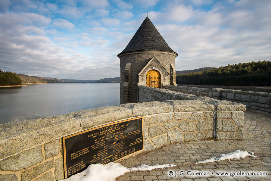 To the Memory of Saville (Saville Dam & Barkhamsted Reservoir, Barkhamsted, Connecticut)