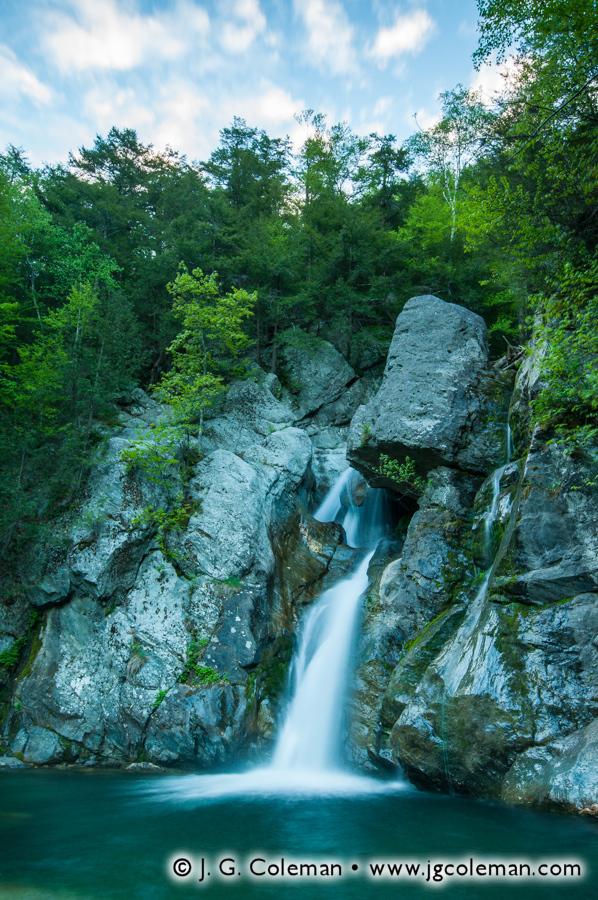&#8220Morning on Bash Bish Falls&#8221, Bash Bish Falls State Park, Mount Washington, Massachusetts