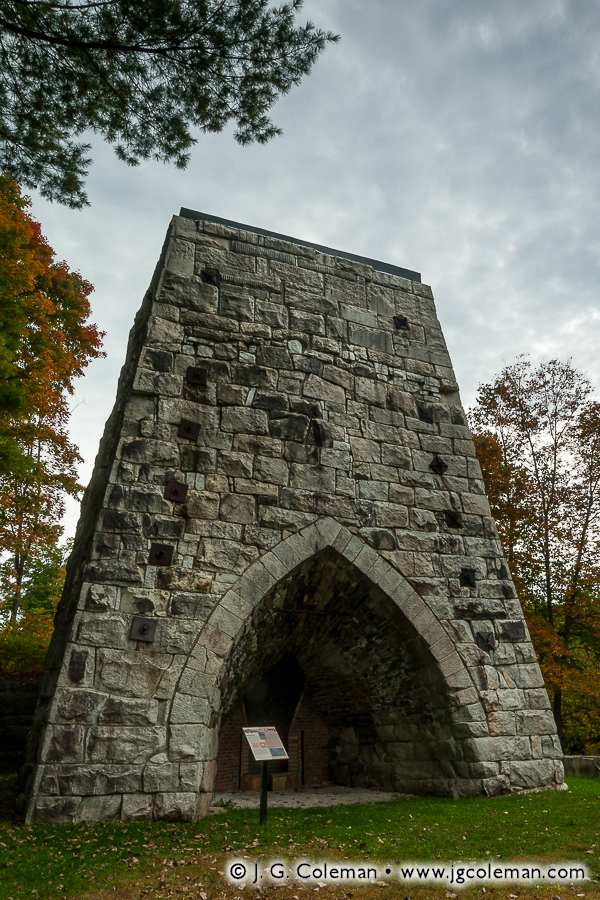 &#8220Beckley's Monolith&#8221, Beckley Furnace, Beckley Furnace Industrial Monument, Canaan, Connecticut