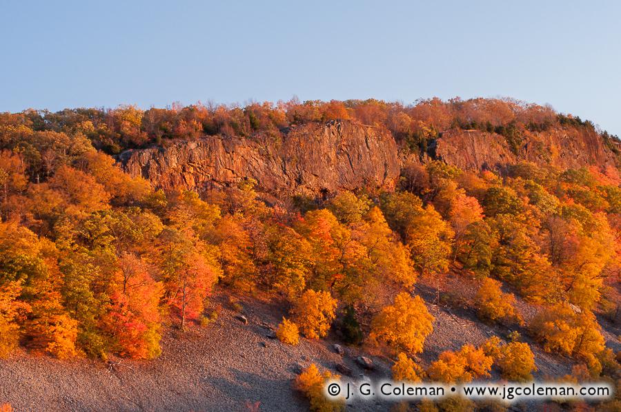 &#8220Cliffs of Beseck Ridge&#8221, Black Pond State Wildlife Management Area, Middlefield, Connecticut