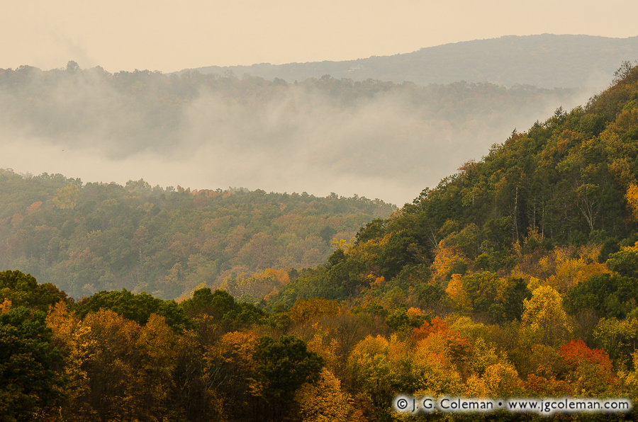 &#8220Secret of the Autumn Hills&#8221, Bridgewater & New Milford, Connecticut
