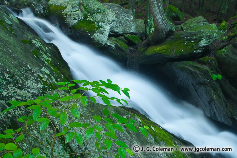 &#8220Falls of Plymouth&#8221, Buttermilk Falls, Buttermilk Falls Preserve, Plymouth, Connecticut