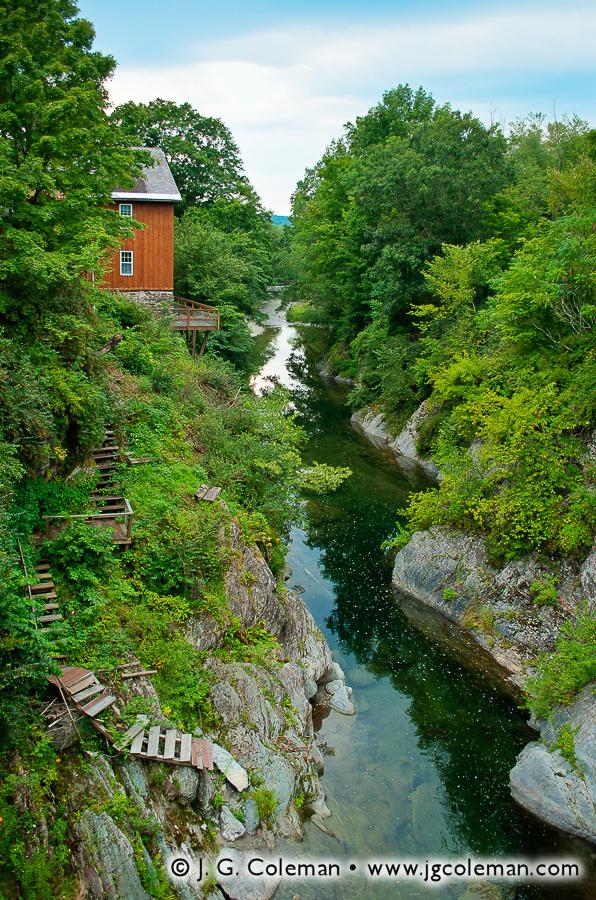 &#8220Poultney Gorge Stairway&#8221, East Poultney Gorge, Poultney, Vermont