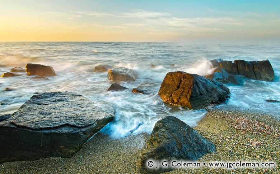 Meig's Dawn (Hammonasset Beach State Park, Madison, Connecticut)