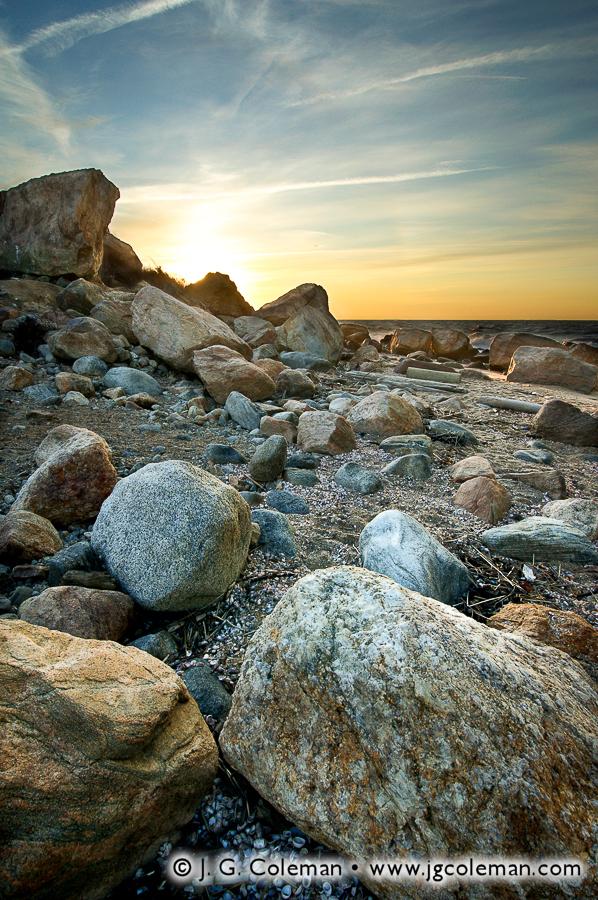 &#8220Birth of Dawn&#8221, Hammonasset Beach State Park, Madison, Connecticut