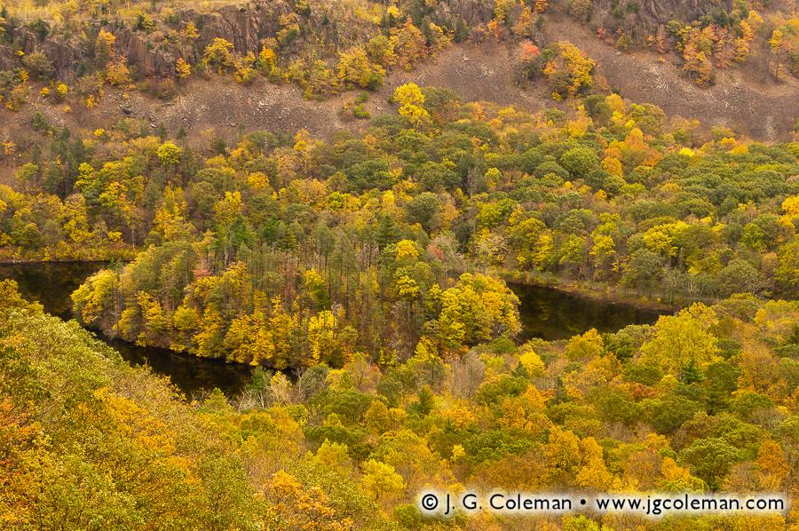 &#8220Merimere and the Hanging Hills&#8221, Merimere Reservoir, Hubbard Park, Meriden, Connecticut