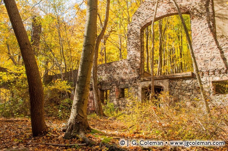 &#8220Amidst the Cornish Ruins&#8221, Cornish Dairy Farm Ruins, Hudson Highlands State Park, Cold Spring, New York