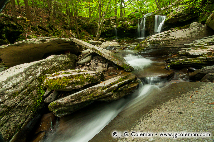 &#8220Echoes of the Old Mill&#8221, Old Mill Falls, Indian Head Wilderness, Hunter, New York