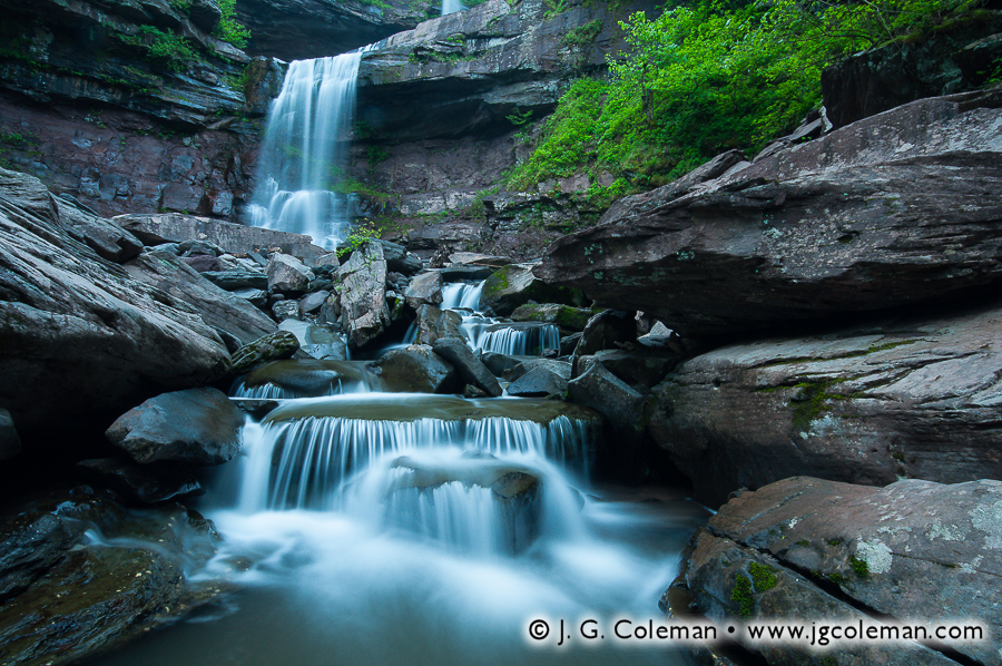 &#8220At the Foot of Kaaterskill&#8221, Kaaterskill Falls, Kaaterskill Wild Forest, Hunter, New York