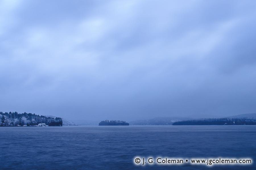 &#8220Winter's Palette&#8221, Lake Bomoseen, Castleton, Vermont