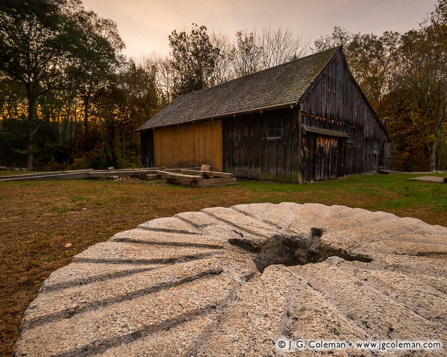 &#8220Millstone and Main's Saw&#8221, Ledyard Up-down Sawmill at Sawmill Park, Ledyard, Connecticut