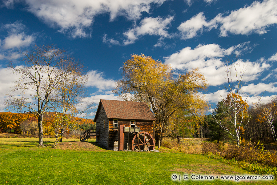 &#8220Hiers' Dream&#8221, Mill in the Meadow, Granville, Massachusetts